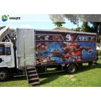 China Dynamic System Mobile 5D Cinema XD Cinema Truck Luxury Black With 6 Seats for sale