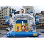 Outdoor Inflatable Jumping Castle Bounce House With Slide For Sale From China Factory for sale
