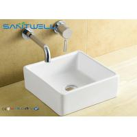 Ceramic Counter Top Wash Basin Sanitary Ware Factory Sink 380*380*135 mm Countertop Washbasin for sale