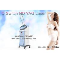 China ND YAG Laser Tattoo Removal Machine , 1320nm Laser Carbon Peeling For Skin Whitening for sale