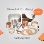China Bronze Bushing Sheet CuPb10Sn10 Slide Layer for sale