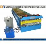 Steel Tile Roll Forming Machine With Hydraulic Control System For Fencing for sale