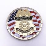 Different Styles Military Challenge Coins / 3D Logo Gold Metal Coins for sale