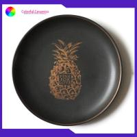 Eco Friendly Ceramic Dinner Plates 8 Inch Nordic Style Dessert / Jewelry Show Usage for sale