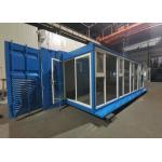 Blue 20hc Prefabricated Expansion Container House for sale