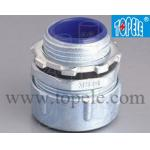 China Male Flexible Metal Conduit Connector Fittings Plum Type Straight Liquid Tight for sale