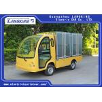 China 2 Passengers Golf Food Cart  Loading 900kgs / Electric Freight Car With Door for sale
