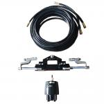 China ZA0350 Version 2.0  Marine Hydraulic Steering Kit for engines up to 600HP for sale