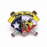 Fashion Sports Trading Pins / Metal Custom Soft Enamel Lapel Pins for sale