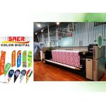 China Flag Printing Machine Digital Banners Printer Roller Printing Machine Plotter for sale