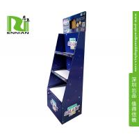 Children Learning Game Cardboard Floor Displays , Cardboard Product Display With Lcd Window for sale