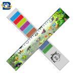 Straight 3D Lenticular Ruler For Promotional Gift Stationery Custom Shape for sale