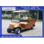 China 48V 2 Seater Farm Electric Utility Vehicle With Basket And Cargo Van for sale