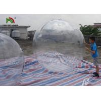 1.8m Clear PVC Inflatable Water Ball / Inflatable Water Walking Ball For Kids for sale