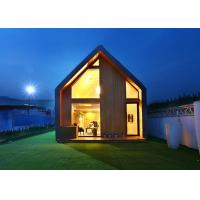 China Modern Light Steel Prefab Small Garden Studio Resort House Holiday Hotel for sale