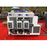 Express Box Automatic Feeder Corrugated Flexo Printer Slotter Machine / Carton Box Packaging Machine for sale