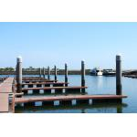 Pile Guide Pile Cap For Yacht Marina Floating Dock for sale