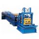 Galvanized Steel CZ Purlin Roll Forming Machine 400H Beam Frame With Post Cutting for sale