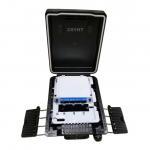 Outdoor FTTH Fiber Optic Terminal Box Splitter PP Inpact Resistant Plastic Material