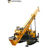 China Hydraulic Cralwer Surface Exploration BQ 400 m / NQ 300 m / HQ 160 m Core Drilling Rig manufacturer