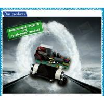 Air Cooling Ceramic Tube Ozone Generator Tube / Ozone Generator Cell