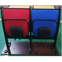 China Metal Frame Soft Foam School Desk And Chair With Foldable Iron Writing Pad for sale