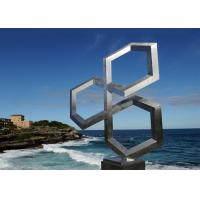 Modern Seaside Decoration Corrosion Resistant Stainless Steel Sculpture for sale
