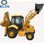 1.5 - 3 Ton Caterpillar Backhoe Loader With 1m3 Front Load Bucket Capacity for sale