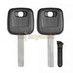 Volvo Car Key Shell HU56R Brass Blade -Best Replacment For Volvo Key Shell for sale