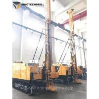 Surface Exploration Drilling Rig Equipment / HQ 160m Crawler Drill Rig for sale