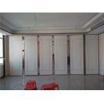 Office Decoration Movable Wood Folding Partition Walls For Multi Function Hall for sale