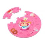 PortablePuzzle Board Games Age 3 4 / Circle Jigsaw Puzzle 2pcs - 1500pcs Every Piece for sale