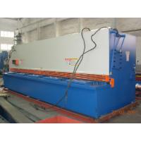 China 6m Length Electric Hydraulic Shearing Machine Metal Sheet Cutting Tools 15KW Power supplier