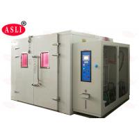 Simulate UV Xenon Lamp Temperature Combined Accelerated Weathering Test Machine Walk In Room for sale
