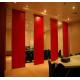 Movable Door Rollers Banquet Hall Acoustic Partition Wall Panel Thickness 65mm OEM / ODM for sale