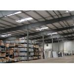 Earthquake Proof Steel Structure Workshop With Insulation Color Steel Sheet for sale