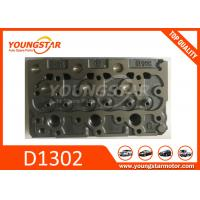 Casting Iron Kubota Cylinder Head / Truck Spare Parts D1402  D1100 D1503 for sale
