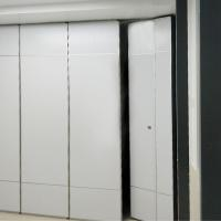 Frameless Folding Easy Install Sliding Movable Partition Wall For Balcony Hotel for sale