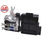 China Black Industrial Automotive Fuse Box / Car Battery Fuse Block Two Ways for sale