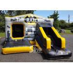 18x12 Kids Inflatable Batcave Disco Bouncy Castle With Slide CE EN14960 EN71 for sale