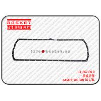 China 1113671300 1-11367130-0 Oil Pan To Cylinder Block Gasket For Isuzu CXZ51 6WF1 for sale