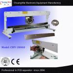 China Manual Blade Moving PCB Depaneling Cutter With Linear And Circular Blades for sale