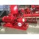 China Motor Pump Sets  400usgpm 108psi 3550rpm UL/FM Fire Fighting Pump End Suction sets for sale