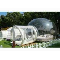 PVC Inflatable Transparent Bubble House Tent For People Have A Camping In Outdoor for sale