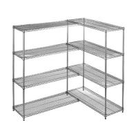 Heavy Duty Chrome Steel Industrial Wire Shelving 4 - Layers For Medicine Storage for sale