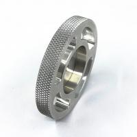 Diamond Knurling Aluminum Parts Cnc Machined Components Durable For Equipment for sale