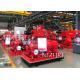 China 750GPM@170PSI, Ul Listed ,MOTOR DRIVER ,Split casing Pump set ,50HZ/380V ,110KW/150HP for sale