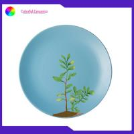 China Tableware Set Dinner Custom Printed Ceramic Plates 8 Inch Sala Dessert Container for sale