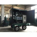 High Vacuum Mobile Transformer Oil Purifier With Air Booster / Roots Vacuum Pump for sale