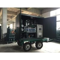 China High Vacuum Mobile Transformer Oil Purifier With Air Booster / Roots Vacuum Pump supplier